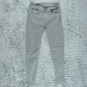 Armani Exchange Super Skinny Gray Jeans 27